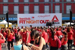 Pinchando en la Fit Night Out de Women's Health con Reebok